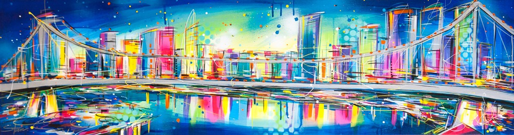 Starr 41638 A Very Colourful Story 150x40cm